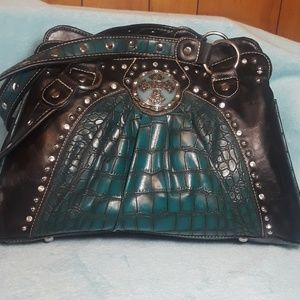 P&G Collection Western shoulder bag